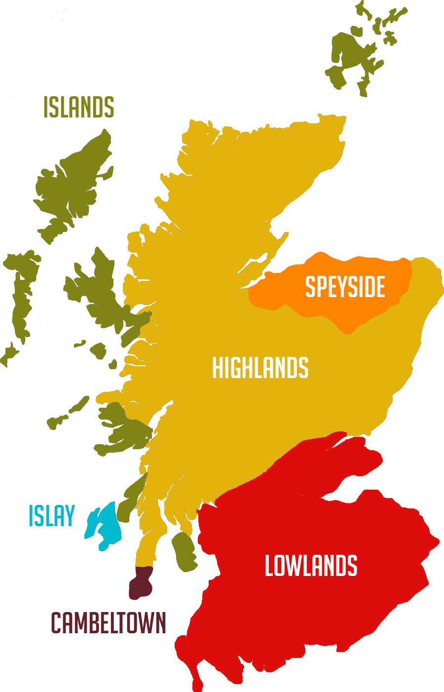 Scoland whisky-region-maps (from www.highestspirits.com)