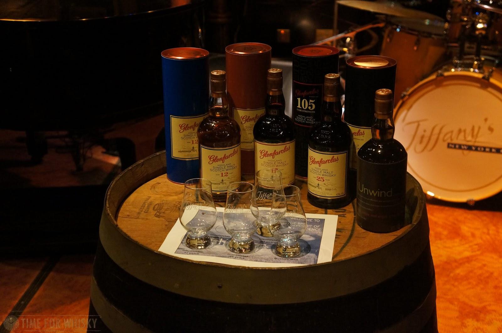 Some Glenfarclas standard range (from www.timeforwhisky.com)